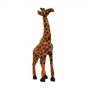 Houten giraffe - Fair trade