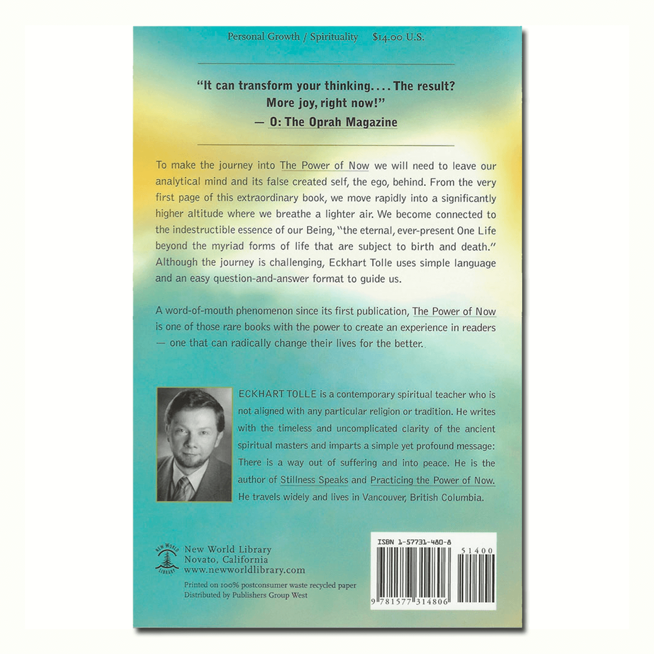 eckhart tolle the power of now pdf