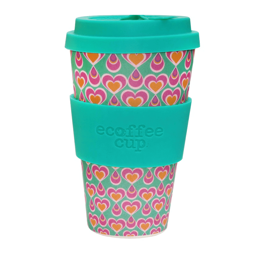 koffiebeker to go - hartjes - Ecoffee cup
