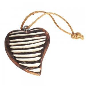 Houten hart - mangohout
